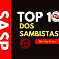 Intérprete da X-9, Darlan, apresenta seus 10 sambas-enredos favoritos no Top 10 dos sambistas, confira