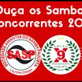 Ouça os sambas concorrentes da X-9 Paulistana 2018