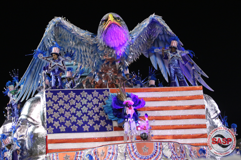 2a9889365 Veja a galeria de fotos da Estrela do Terceiro Milêno – SASP Carnaval